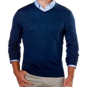 NWT Men's Calvin Klein Blue Sweater medium